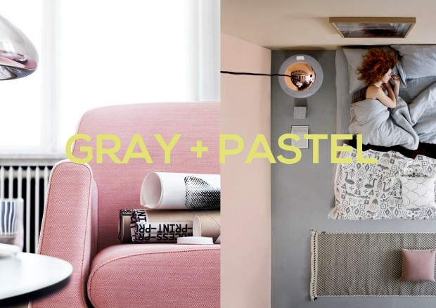 Gray + pastel1